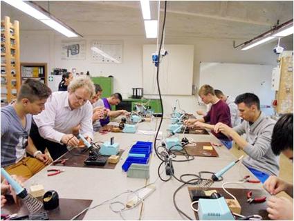 """Foto: Marinarii de la Colegiul Tehnic de Marină ,,Al. I. Cuza"""", la specializare în Germania"""