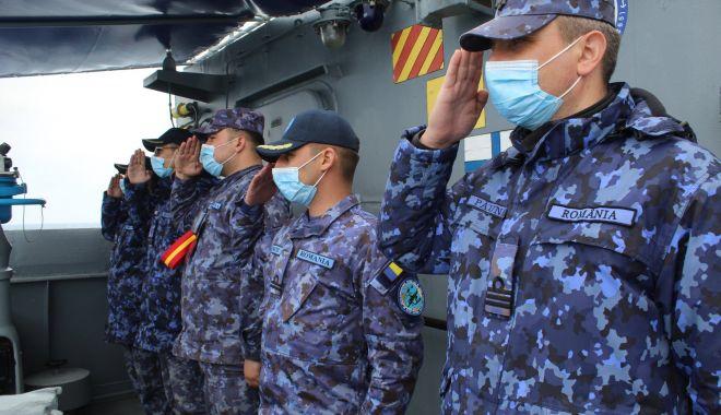 Marinarii militari sărbătoresc 9 Mai, zi cu triplă însemnătate pentru poporul român
