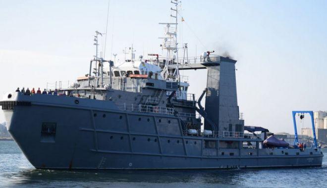 57 de militari români, într-o misiune istorică, în Marea Mediterană!