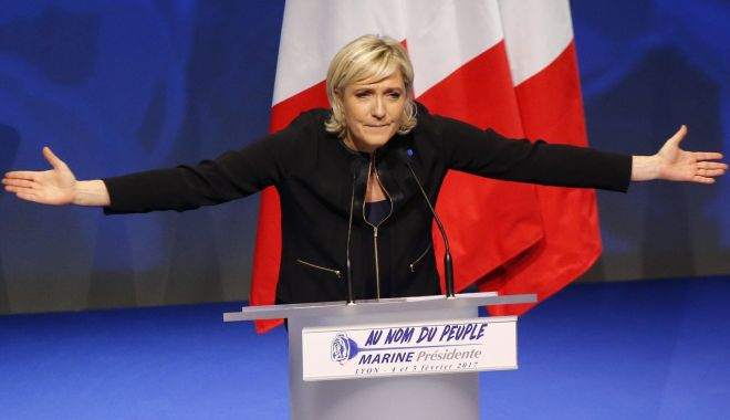 Foto: Marine Le Pen doreşte o alternativă la Uniunea Europeană