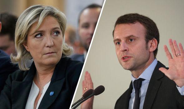 Foto: FRANŢA, ÎN FOCURILE ALEGERILOR. Emmanuel Macron a câştigat dezbaterea cu Marine Le Pen