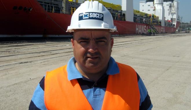 Foto: Marius Barbarino primeşte încă un mandat de director general al SC Socep SA