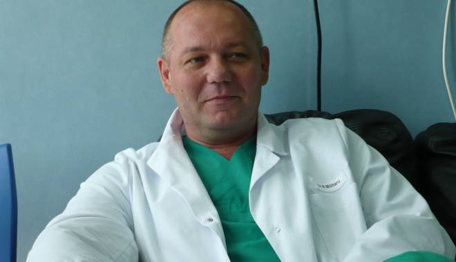 Foto: Dr. Marius Militaru poate profesa la un spital privat din Constanţa