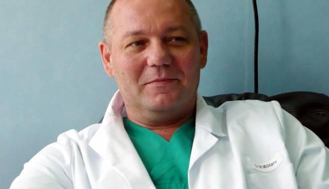 Foto: Medicul Marius Militaru, cu sechestru pe bunuri
