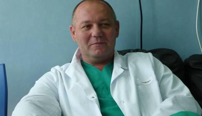 Foto: Medicul Marius Militaru, din Spitalul Judeţean Constanţa, condamnat pentru luare de mită