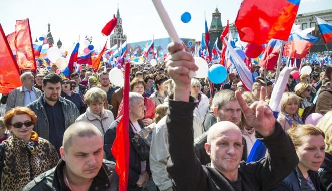 Foto: Marş împotriva represiunii statului, la Moscova