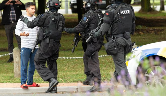Foto: Noua Zeelandă, scena unui masacru fără precedent!