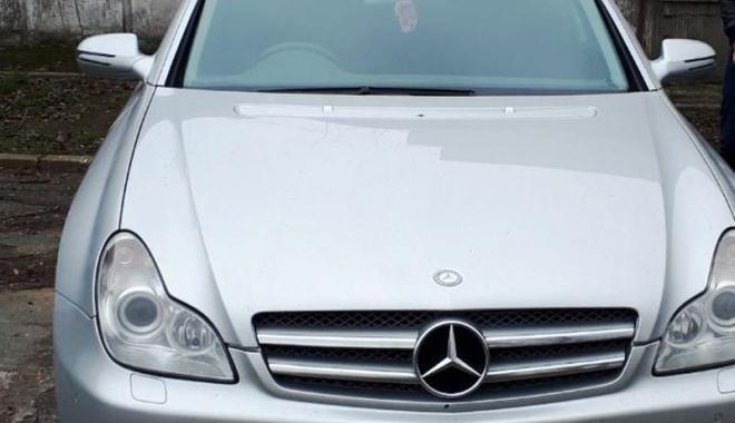 Foto: Mașină de lux, confiscată de polițiștii din Constanța