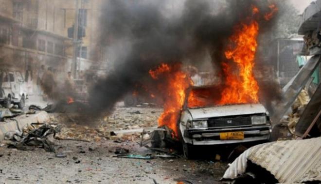 Foto: Atentat cu maşină-capcană. 20 de morţi şi cel puţin 50 de răniţi