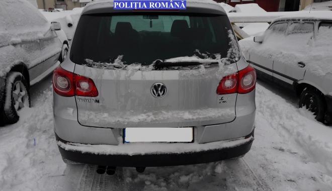 Autoturism furat din Norvegia, găsit la Constanţa - masinafurata-1484124078.jpg