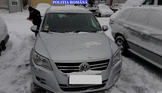 Autoturism furat din Norvegia, găsit la Constanţa - masinafurata1-1484124101.jpg