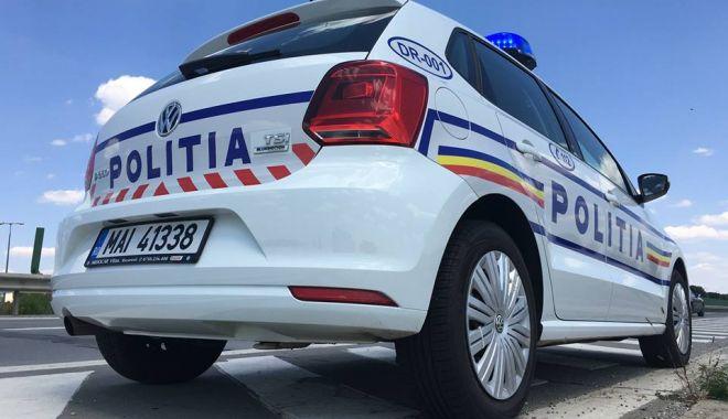Foto: Proiectul de lege care prevede că maşinile de poliţie cu radar trebuie presemnalizate, adoptat de Camera Deputaţilor