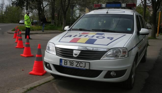 Foto: �oferi penali prin�i pe str�zile din Constan�a