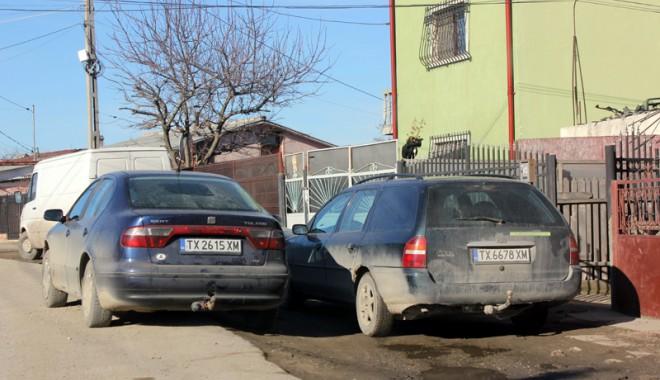 Foto: Ai maşină de Bulgaria, te încălzeşte statul!