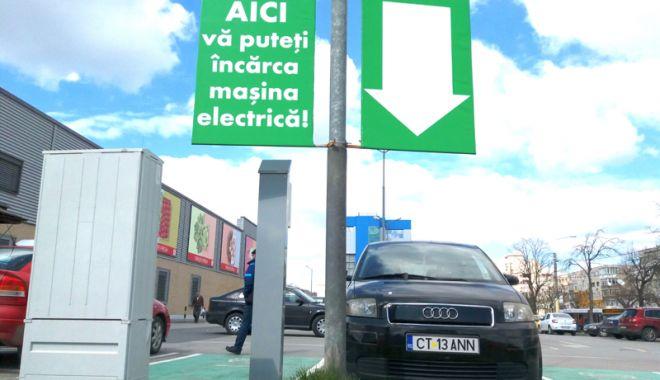 Mașinile electrice pot fi încărcate gratuit, în Constanța. Iată unde