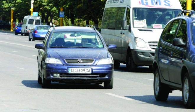 Foto: Gata cu maşinile înmatriculate în Bulgaria!