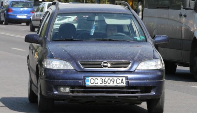 """""""Comando"""" pentru maşinile cu numere de Bulgaria!"""