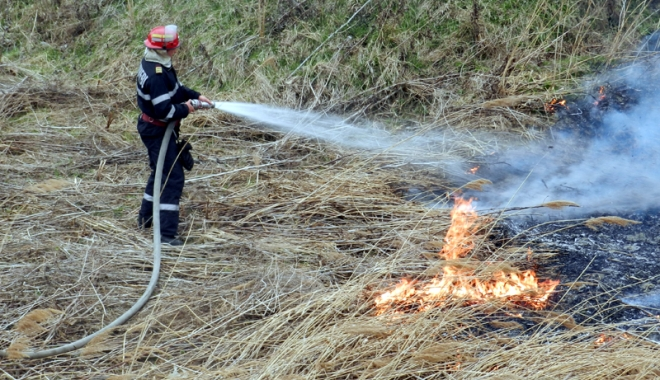 Foto: Avertisment ISU. Nu mai incendia�i terenurile!