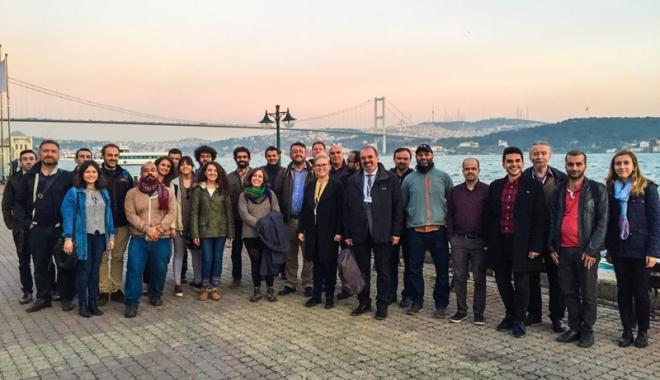 Foto: Matematicienii constănţeni,  prezenţi la Universitatea Galatasaray