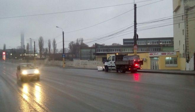 Foto: Ninge la Constanţa! Autorităţile locale au scos sărăriţele pe străzi