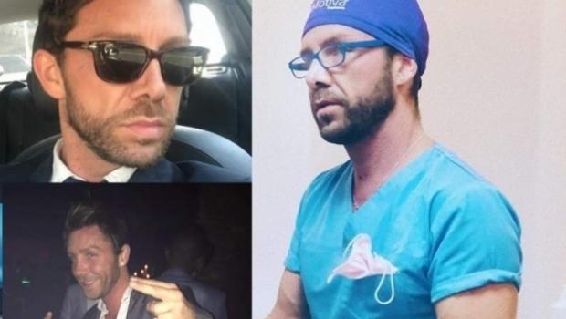 Foto: Matteo Politi, falsul chirurg estetician, a fost reţinut 24 de ore