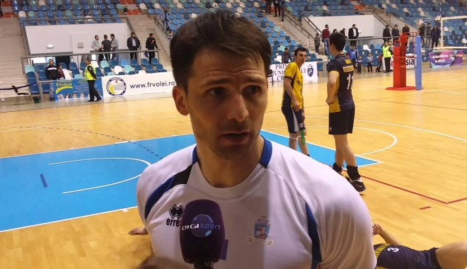 Foto: VOLEI / LAURENŢIU LICĂ, cel mai bun voleibalist român al anului 2016
