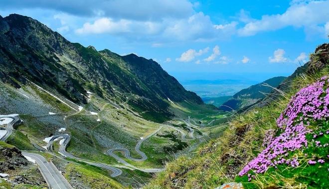 Foto: Călătoriţi pe Transfăgărăşan? Atenţie! Iată ce trebuie să ştiţi
