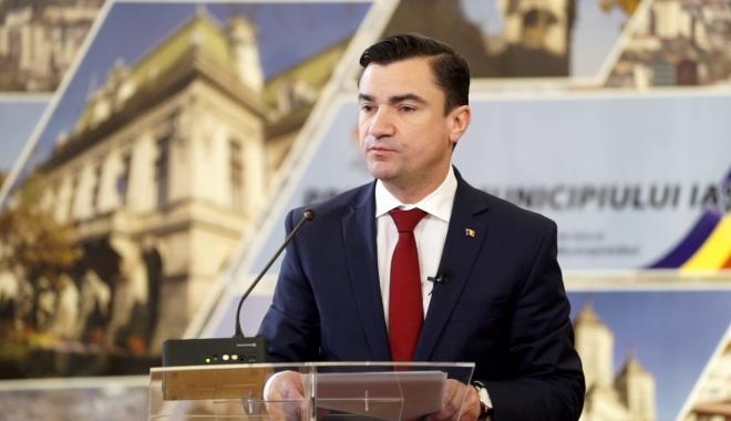Foto: Primarul Iaşiului: Vom cere aviz de neconstituționalitate a reformei fiscale; vom da în judecată Guvernul