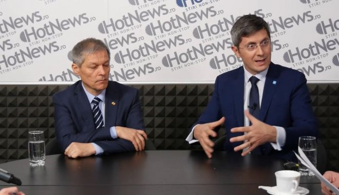 Foto: Cioloş spune că el sau Barna va candida la Preşedinţie: Suntem una din forţele politice ale ţării