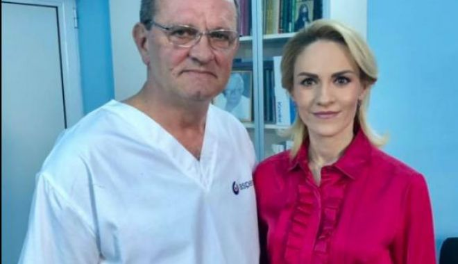 Foto: Gabriela Firea, internată în spital şi operată