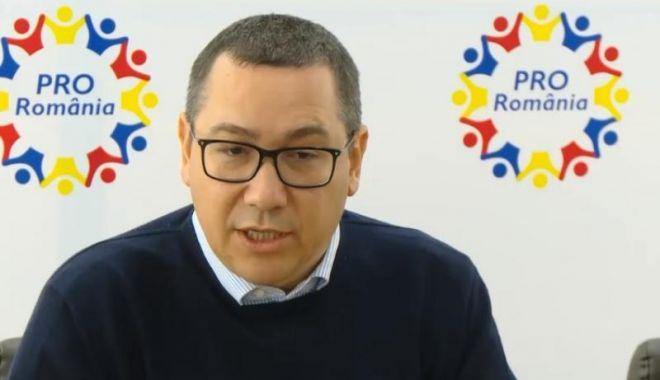 Foto: Ponta: Răspund afirmativ la un referendum cu întrebare clară, care le interzice condamnaţilor definitiv ocuparea unor funcţii publici