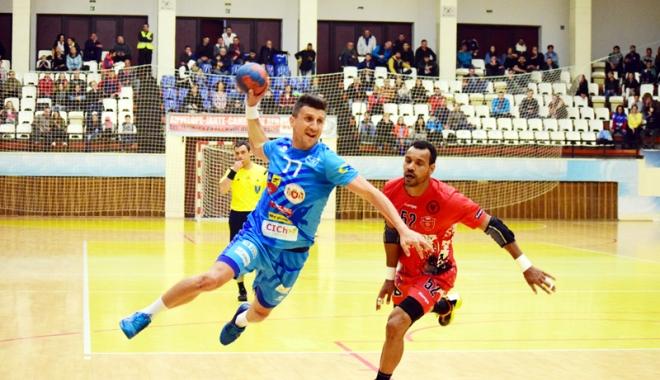 Foto: Handbal / Victorie pentru HC Dobrogea Sud în primul meci contra BSK Handball Elite