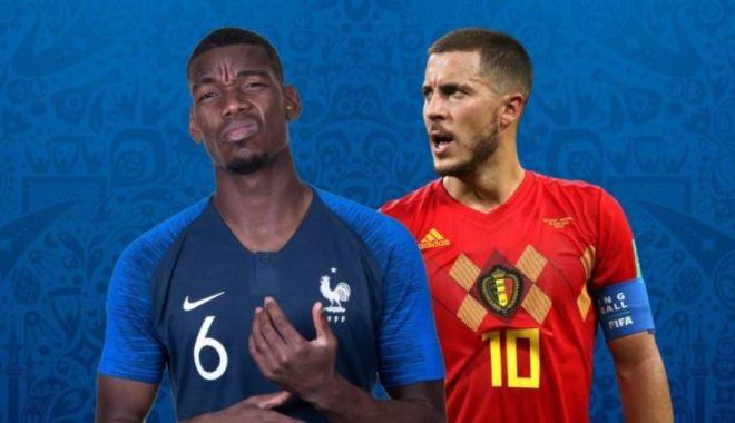 Foto: CM 2018. Franţa - Belgia (21:00), semifinala de cinci stele de la Mondial