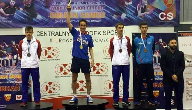 Foto: Medalie de bronz pentru Cristian Pletea, la Openul Poloniei