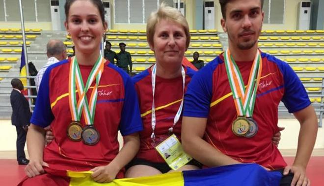 Foto: Medalii pentru constănţeni, la Jocurile Francofoniei