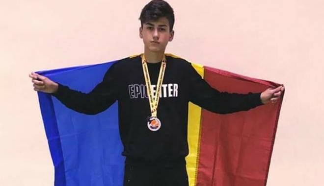 Foto: Medalii balcanice pentru sportivii de la Mihail Kogălniceanu