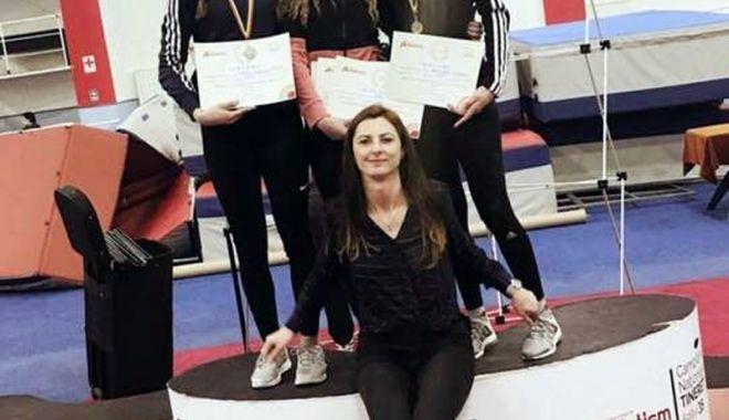Foto: Medalii pentru atletismul constănţean, la Campionatul Naţional