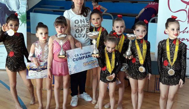 Foto: Medalii pentru CS Victoria Cumpăna, la CN de gimnastică ritmică