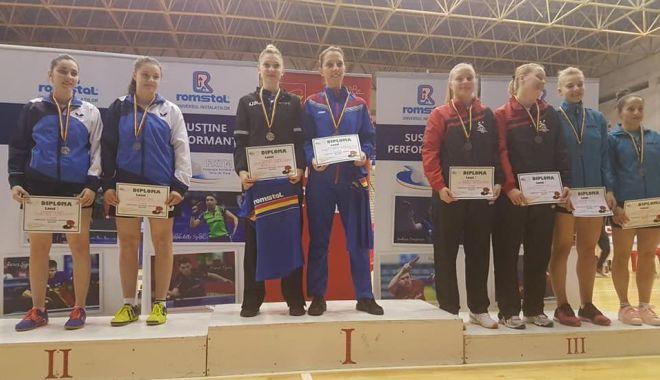 Foto: Medalii pentru tenisul de masă constănţean, la Naţionale