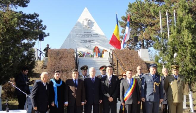 Foto: Ostaşii sârbi, comemoraţi de administraţia publică din Medgidia