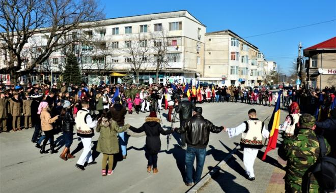 Foto: Sărbătoarea Micii Uniri, marcată la Primăria Medgidia