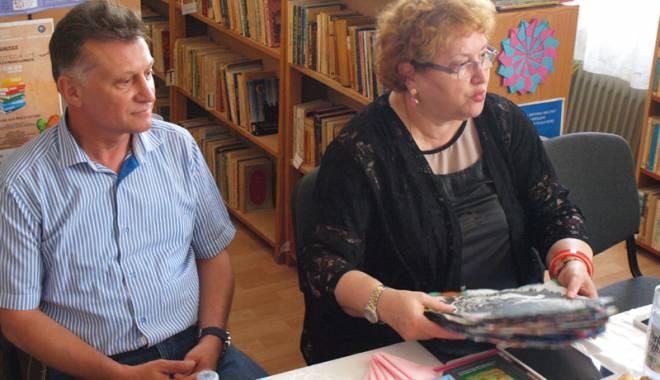 """Foto: """"Biblioteca din Medgidia, o şansă la educaţie pentru copiii defavorizaţi"""""""