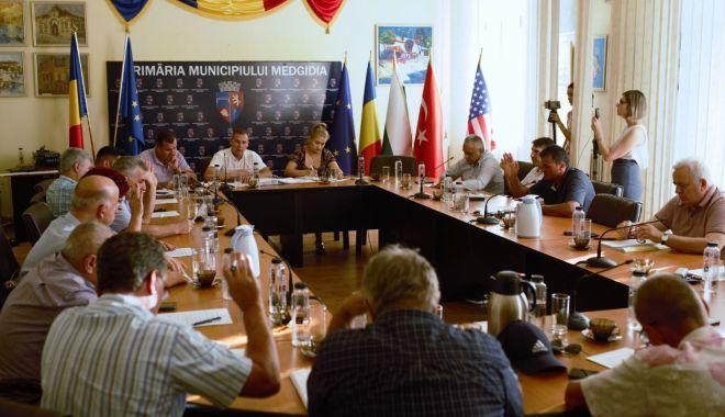 Foto: Consilierii din Medgidia, reuniți în ședință. Ce proiecte au fost votate