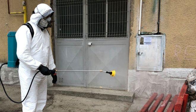 Foto: Instituțiile publice din Medgidia, dezinfectate de autoritățile locale