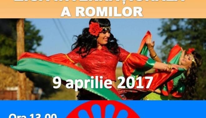 Foto: Primăria din Medgidia sărbătoreşte Ziua Internaţională a Romilor