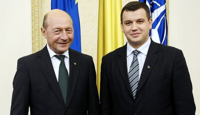 """Foto: Traian Băsescu, preşedinte de onoare al PMP: """"Nu este o funcţie, este un titlu"""""""