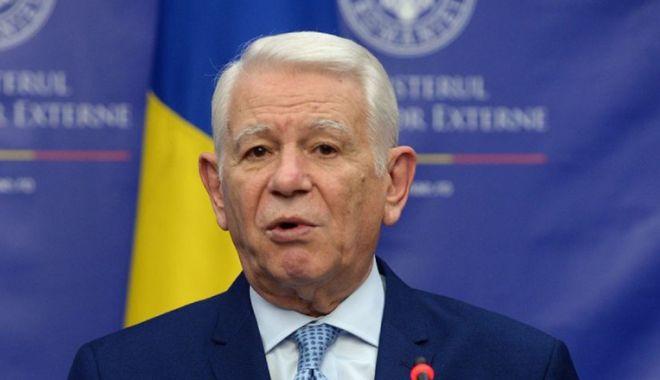 Foto: Meleșcanu, la reuniunea Consiliului de Afaceri Externe. Se discută situația din Siria