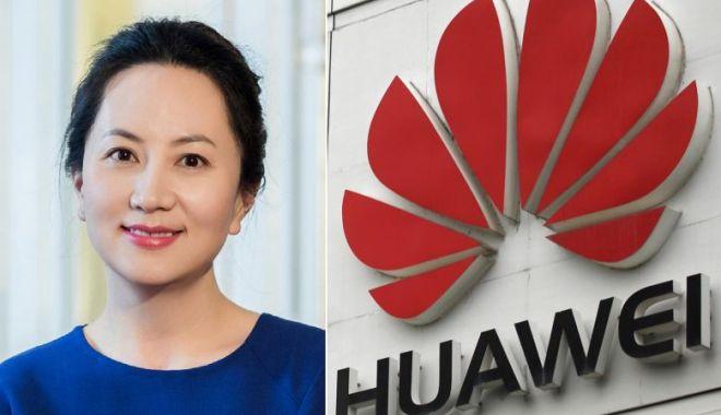 Foto: Ambasada Chinei din Canada cere eliberarea directoarei financiare a Huawei