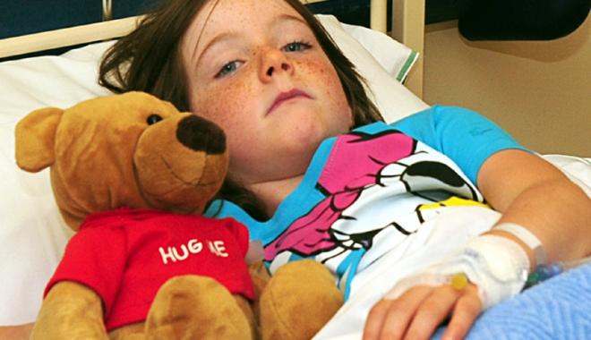 Foto: Epidemie de meningită în şcolile constănţene? Spitalul este plin cu copii bolnavi