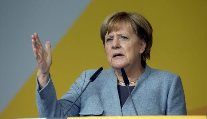 Foto: Angela Merkel se opune propunerilor lui Macron privind zona euro